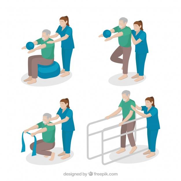 Fisioterapia Neurológica, Músculo Esquelética, Traumato Ortopédica, Reumatológica e Respiratória.